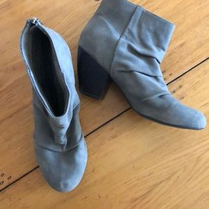 Sugar 11M booties slouch boots with heel